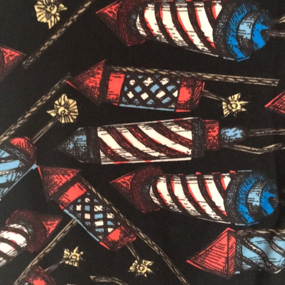 942a89b8c50b26 LuLaRoe Pants | Tc Leggings In 4th Of July Fireworks Print | Poshmark